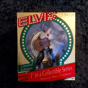 Limited Edition Musical Elvis Ornament